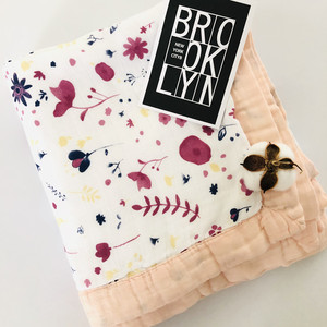 Image 5 - ใหม่Muslin Quiltสี่ชั้นไม้ไผ่Muslinผ้าห่มSwaddleดีกว่าAden Anaisเด็ก/ผ้าห่มเด็กทารก