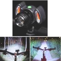 XANES 800LM T6 Avvertimento Della Bicicletta Luce Zoomable IPX6 Impermeabile Della Bici Della Luce Anteriore 4 Modalità di Ricarica USB HA CONDOTTO LA Torcia Lampada Lanterna