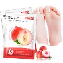 Pedicure Socks Moisturizing Masks Foot-Patches Peach Exfoliating-Foot-Masks Dead-Skin