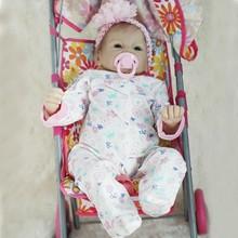 Muñecas de bebé Reborn de silicona de 22 pulgadas y 55 cm, muñecas de bebé realistas, XX9F