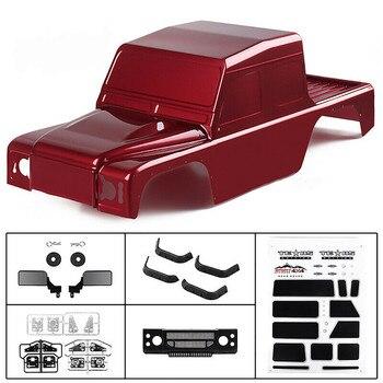 RC Car Body 313mm Wheelbase RC Car PVC Body Shell for 1/10 TRX4 Defender SCX10 90046 D110 Pickup RC Car Accessories