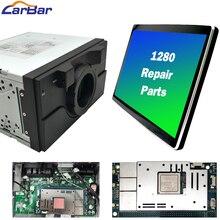 """Carbar onarım parçaları kafa ünitesi anne kurulu çekirdek kurulu için 1280 12.8 """"Tesla Android araba radyo DVD GPS oynatıcı 4 + 64G HDMI Carplay"""