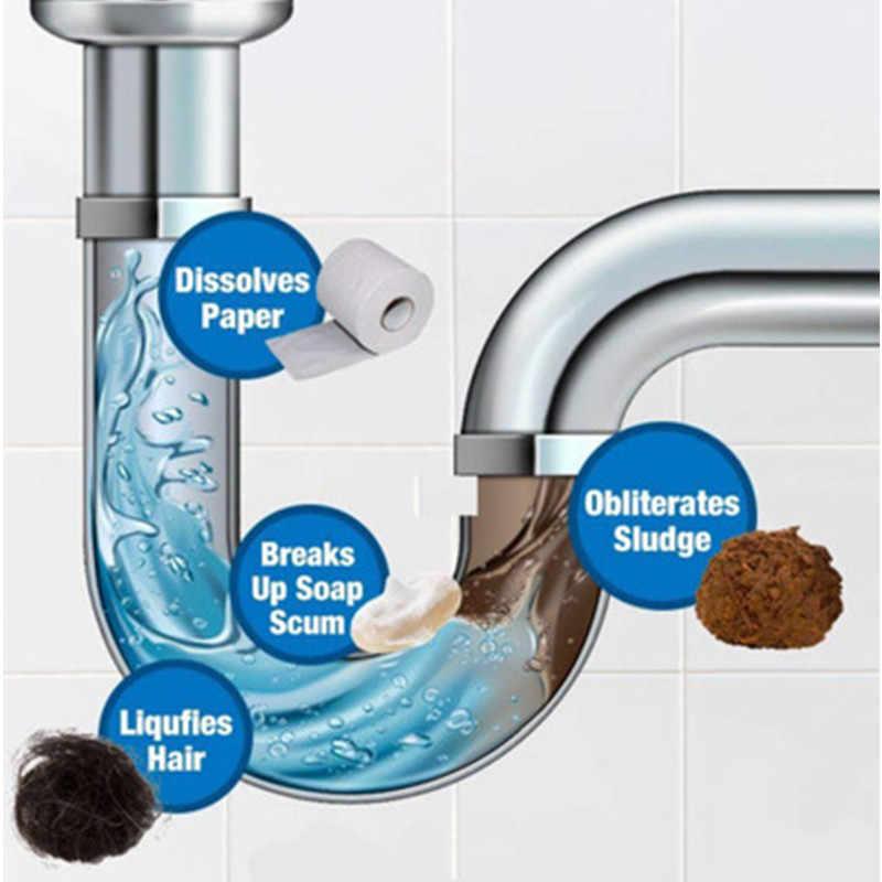 עוצמה חפירת צינור סוכן חזק כיור ניקוז מנקה עבור מטבח ביוב אסלת מברשת Closestool סתימה ניקוי כלים