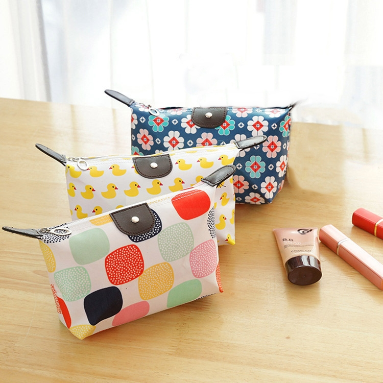 Bag Pouch Makeup-Bag Coin-Handbag Wash-Organizer Pu-Phone Zipper Travel Beauty Waterproof title=