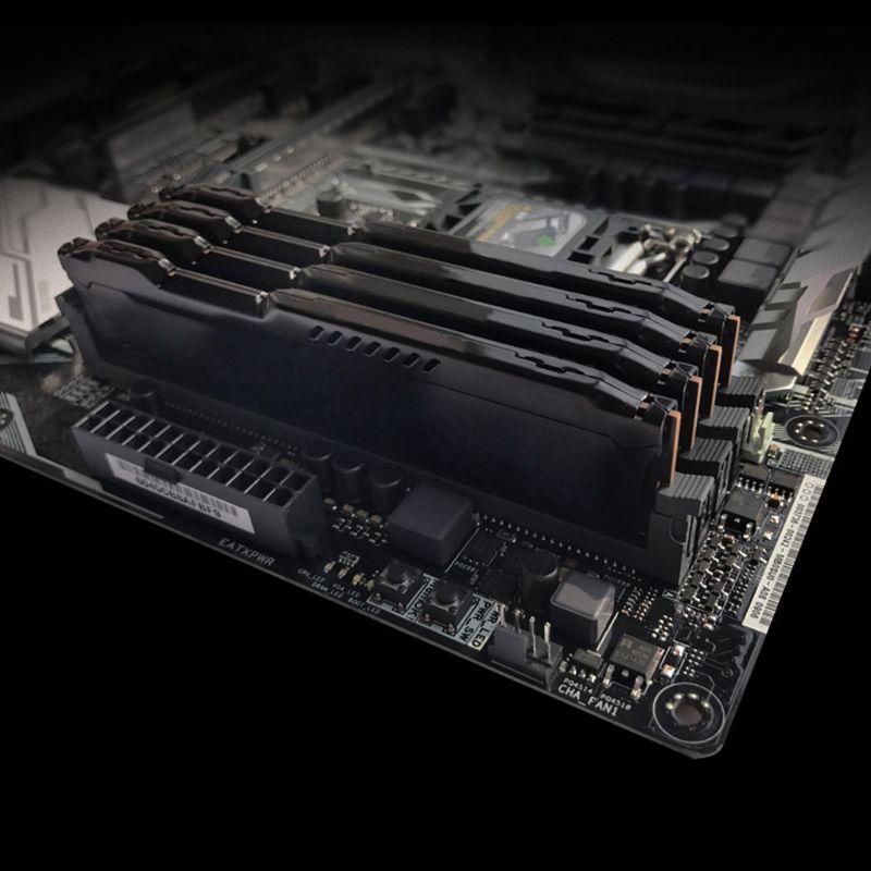 Image 2 - 1 conjunto ram dissipador de calor radiador refrigerador de  refrigeração do dissipador de calor para ddr2 ddr3 ddr4 desktop memória  dissipação de calor almofadaVentiladores e resfriadores   -