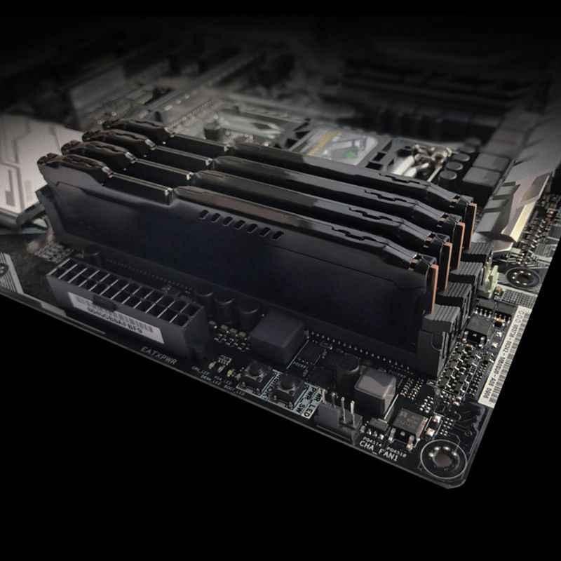 1 zestaw RAM Radiator chłodzenie chłodnicy Radiator chłodnicy dla DDR2 DDR3 DDR4 pamięć stacjonarna rozpraszanie ciepła Pad