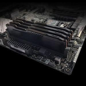 Image 2 - 1Set di RAM Dissipatore di Calore Del Radiatore di Raffreddamento del Dissipatore di Calore del dispositivo di Raffreddamento per DDR2 DDR3 DDR4 Desktop di Memoria Dissipazione di Calore Pad