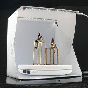 "Image 5 - 10"" 25cm Led Light 360 Degree Electric Rotating Turntable for Photography, Max Load 10kg 220V  110V"