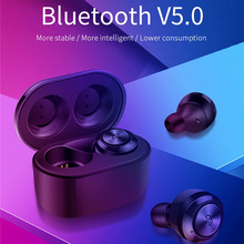 Mini Bluetooth headset 10 working hours, wireless earbuds hands-free car driving mobile phone movement