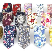 Fashion Floral Tie for Men Narrow Casual Mens Ties for Wedding Party Flower Skinny Neckties for Women Printed Male Neck Ties