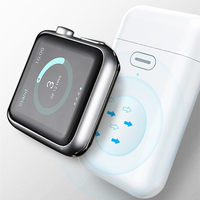 무선 충전기 전원 은행 i Watch 4 3 2 1 휴대용 미니 충전기 외장 배터리 충전 도크 Apple Watch 1 2 3 4