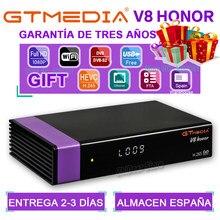 1080P Gtmedia V8 Honor Satallite dekoder DVB-S2 Gtmedia V8 Nova zasilany przez Freesat V9 super wbudowany WIFI H.265 dekoder FTA