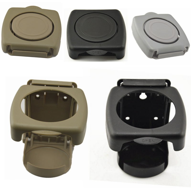 Foldable ABS Plastic Car Drink Bottle Cup Holder Stand for SUV Boat Van Truck