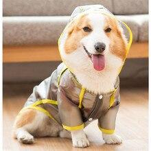 Clothing Coat Rain-Jacket Corgi Pembroke Waterproof Costume Outfit Pet