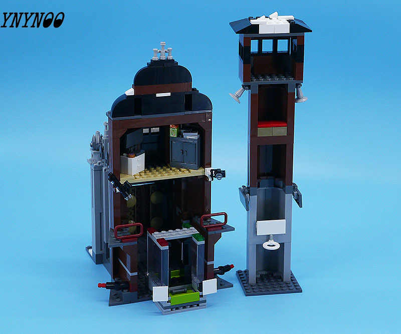 10741 Compatible Legoings Batman DC Comics Arkham Asylum Super Heroes Building Blocks Bricks Toys for children Marvel City Gifts
