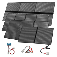 Boguang Foldable solar panel 300w 200w 150w 100w 12v charger portable folding waterproof 5v usb for phone car battery camping ggx energy waterproof 8w 5v portable folding mono solar panel charger usb output controller pack for phones iphone psp mp4