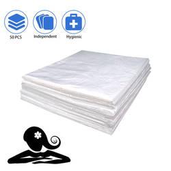 50/100 Pcs Wedigout Kunststoff Folie für Körper Wrap Verwendet Innen eine Fernen Infrarot Sauna Decke 47 x 82 PVC Pack