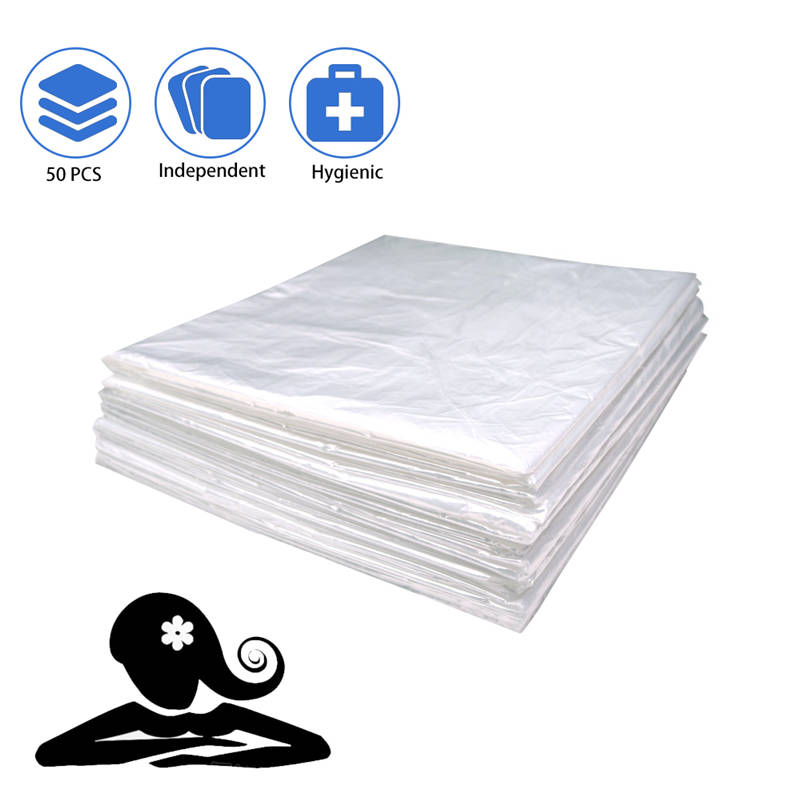 50/100 Pcs Wedigout Plastic Sheeting For Body Wrap Used Inside A Far Infrared Sauna Blanket 47