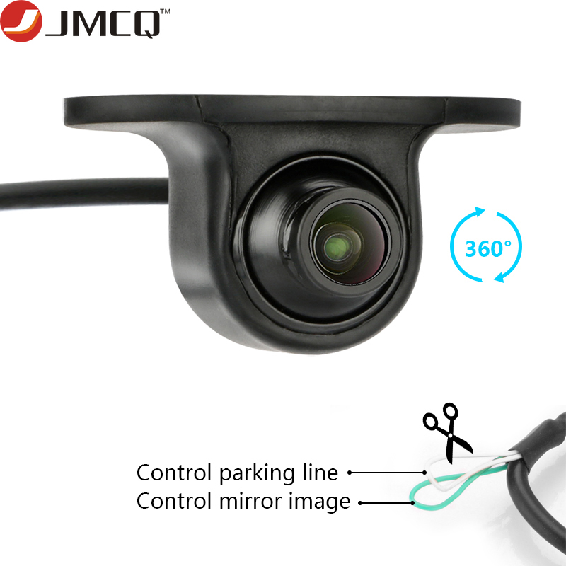 Mini CCD Coms HD Night Vision 360 Degree Rotation  Car Rear View Camera Front Camera Front View Side Reversing Backup Camera