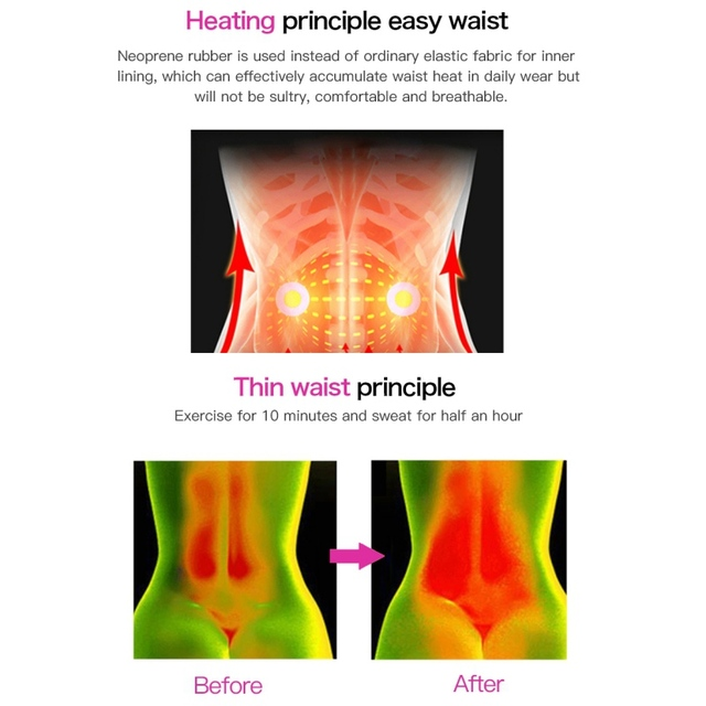 Waist Trainer Thermo Sweat Belt Waist Trainer Girdle Corset Tummy Body Shaper Shapewear Fat Burning Fitness Modeling Strap New 3