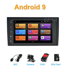 9 8 polegada Android Car GPS radio Stereo para Audi A4 S4 RS4 B7 B6 SEAT Exeo Carro WI-FI BT multimídia(China)
