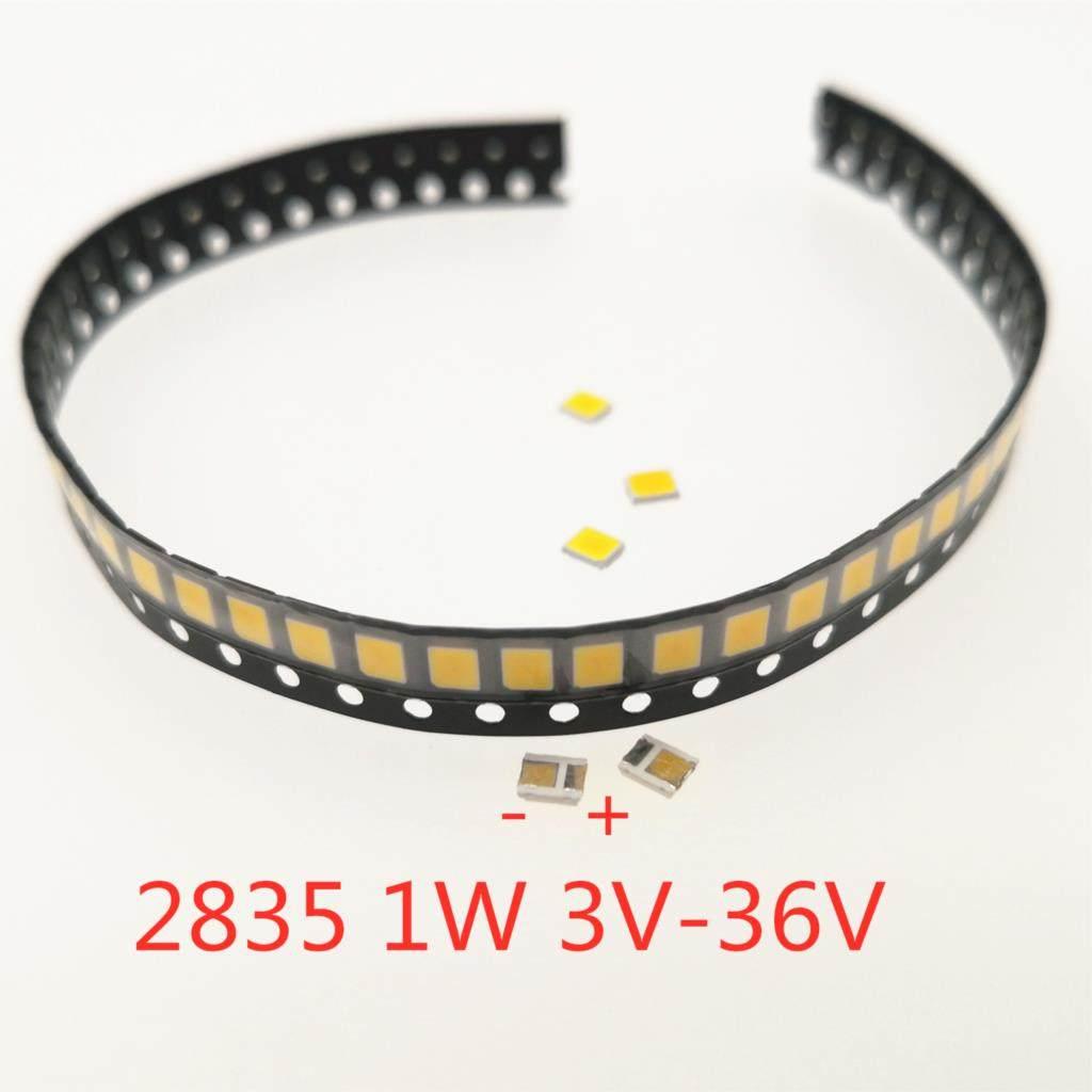 20 x LED Lamp Bead 2835 Warm 6V 30mA 24LM 0.2w Double Core LED Diode