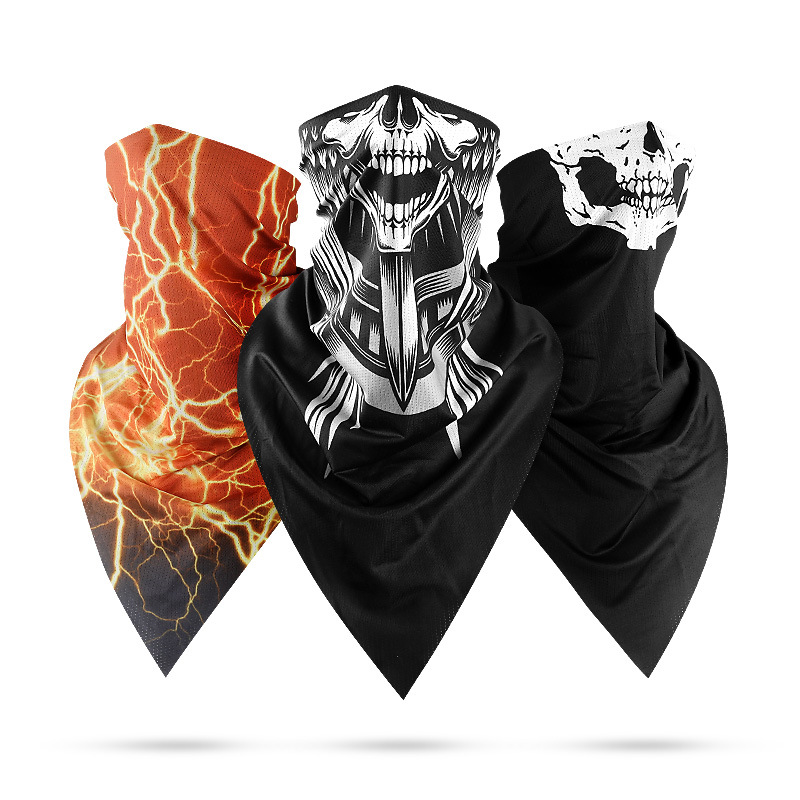 New Balaclava Motorcycle Moto Face Shield Breathable Mask Motorcycle Moto Half Mask Quick Drying Motor Sjaal