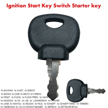 Start 14607 IGNITION KEY PLANT APPLICATIONS For JCB for BOBCAT for BOMAG for MANITOU for TRACTOR for DEUTZ for FENDT for FUCHS image