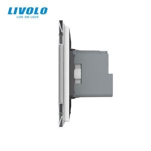 Image 5 - Livolo EU Standard New Smart Wifi Power Socket,Crystal Glass Panel, smartphone 16A Wall Power Socket, wifi app,aleax,googel home