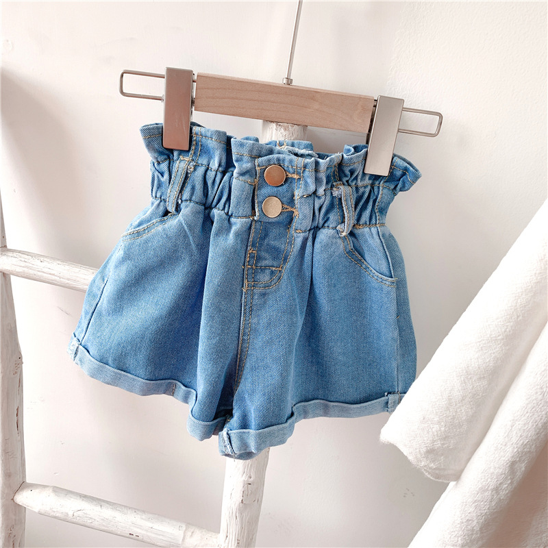2020 Girl Summer  Kids Children Fashion Hot Jeans Denim Shorts Three Colors 7