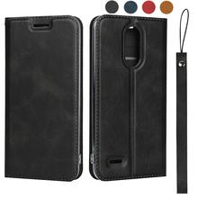 LUCKBUY For LG V36 Protective pu leather flip case with lanyard Magnetic Closure for Coque Luxury Mobile Phone Case