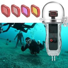 Handheld Gimbal Accessories For DJI Osmo Pocket 2 Waterproof Housing Box Diving Red/Magenta/Pink Lens Filter For Osmo Pocket