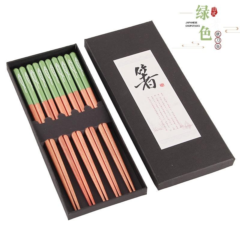 Купить 10 пар палочек для еды многоразовые деревянные искусственные