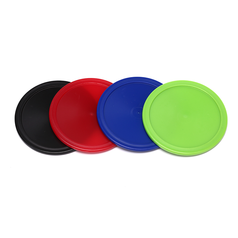 8 Pcs 64 mm Red Air Hockey Table Pucks Puck Mallet Goalies Children Table Game Party Tools Entertainment Accessories
