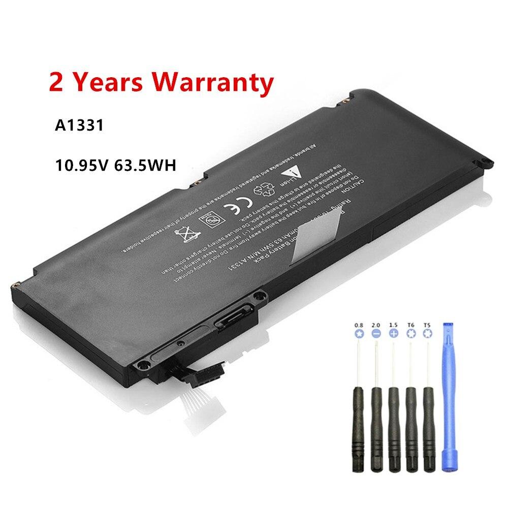 10.95V 63.5WH Laptop Battery For Apple MacBook Unibody 13