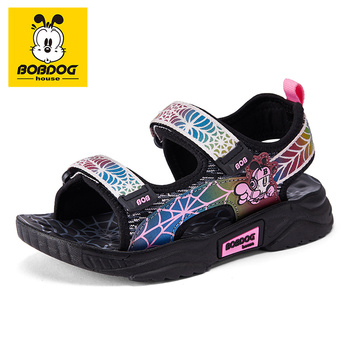 BOBDOG house kids shoes non-slip breathable baby shoes sports and leisure Boys and girls shoes BZZX8637 фото