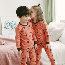 Children Animal Cotton Sleepwear Pyjamas Kids Winter Pajamas Set