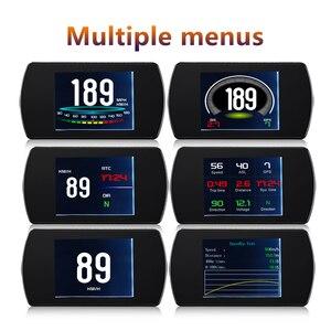 Image 3 - OBD2 HUD T800 Car Head Up Display GPS Speedometer  Smart driving Computer GPS Satellites Speed Work Universal Auto