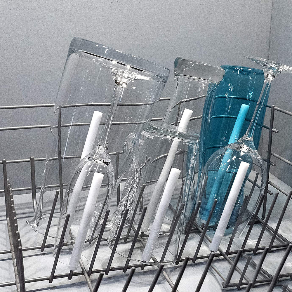 Glass-Holder Dish-Rack Spiked-Glasses for Alleskonner Universal 6pcs
