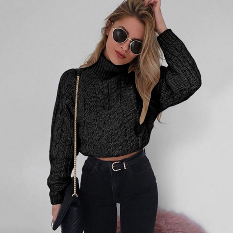 Casual Women Pull Sweaters