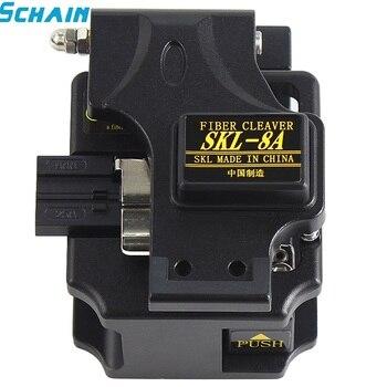 SKL-8A fiber clever High Precision Optical Fiber Cleaver Optic Cutter Hot Melt kit fibra optica - sale item Communication Equipment