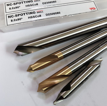 Korea YG-1 HSS-EX Co8 Center drill 60 Degree  Combined 1-1.5-2-2.5-3-4-5mm  e countersinks Angle Bit Set High quality 3pcs lot high speed steel mixed jsg2 5 3 15 3 5 combined center drills bit set 60 degree angle countersink tool for metalworking