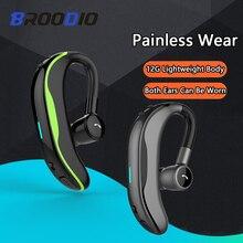 цена на Wireless Bluetooth Earphones Stereo Headset Handsfree Business Headphones With Mic Voice Control For Phone Bluetooth Earphones