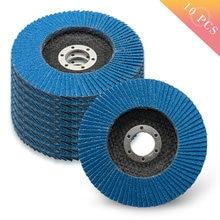 Профессиональные откидные диски 10 шт/компл 115 мм шлифовальные