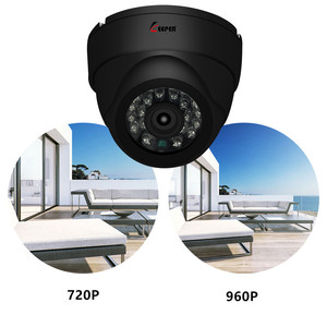 Image 5 - Keeper HD מיני כיפת AHD מצלמה 1.3MP בחדות גבוהה מעקב אינפרא אדום 960P אבטחת CCTV חיצוני כיפת מצלמה עמיד למים
