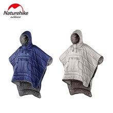 Портативное одеяло naturehike теплый хлопковый спальный мешок
