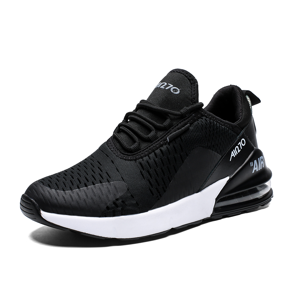 <font><b>Air</b></font> Cushion Men Sneakers Breathable <font><b>270</b></font> <font><b>Womens</b></font> Running Shoes Comfortable Male Female Sports Shoes <font><b>Max</b></font> Size 46 Walking Footwear image