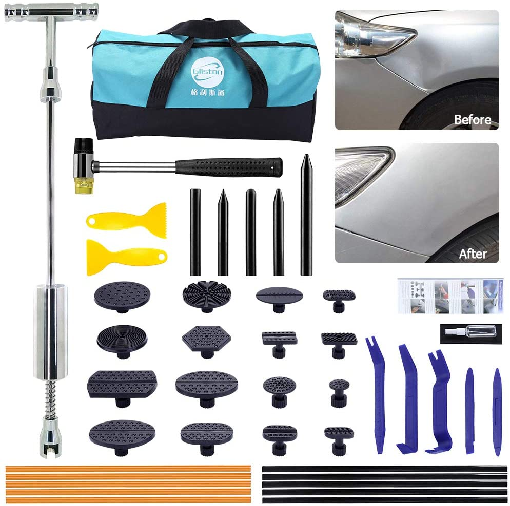 Pops a Dent for Other vehicle Tools Slide Hammer Repair Removal Tool Car 16Pcs Glue Tabs Auto Trim R