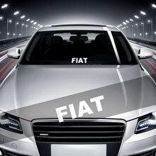Adhesivos reflectantes de coche pegatinas adhesivos de vinilo para coche estilo adhesivo pegatinas para automóvil con emblema para Fiat Panda Bravo Punto Linea
