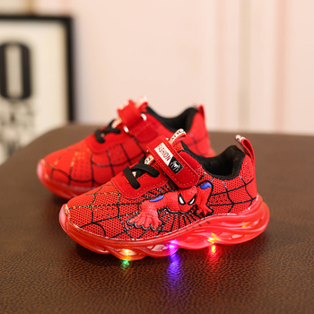 Kids Glowing Sneakers with light glowing kids shoes boys girls Luminous Lighted Sneakers Boy Girls LED Children Shoes 2019 new size 26 44 kids luminous sneakers for girls boys women shoes with light led shoes with flower glowing sneakers